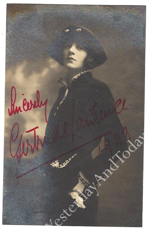 Autographs.